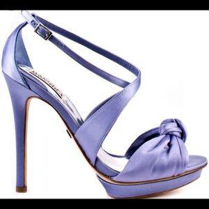 Badgley Mischka Sz 7 Lavender Merry Bride Heels